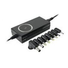 ADAPTADOR DE CORRIENTE UNIVERSAL PERFECT CHOICE C/PUNTAS INTERCAMBIABLES C/PUERTO USB, - Garantía: 1 AÑO -