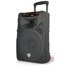 BAFLE AMPLIFICADO BOCINA 15 PULG GHIA-TITAN RECARGABLE/ BT/ USB/ SD/ MIC/ CTR REM/ LUCES LED/ TRIPIE, - Garantía: 1 AÑO -