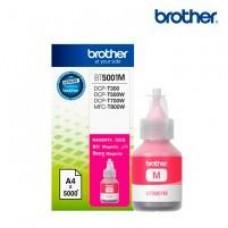 BOTELLA DE TINTA BROTHER MAGENTA BT5001M DE ALTO RENDIMIENTO DE HASTA 5000 PGINAS COMPATIBLE CON TINTA CONTINUA BROTHER, - Garantía: SG -