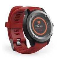 GHIA SMART WATCH DRACO /1.3 TOUCH/ HEART RATE/ BT/ GPS/GAC-072 / COLOR ROJO, - Garantía: 1 AÑO -