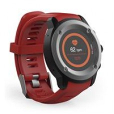 GHIA SMART WATCH DRACO /1.3 TOUCH/ HEART RATE/ BT/ GPS/GAC-072 / COLOR ROJO, - Garantía: 1 AÑO -
