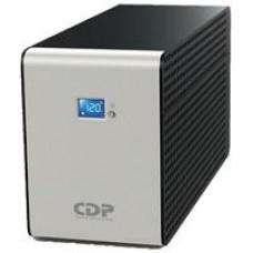 NO BREAK CDP INTELIGENTE 1200VA/720W, 10 CONTACTOS, PANTALLA LCD, BRAKER, PUERTO USB, RESPALDO DE BA, - Garantía: 2 AÑOS -