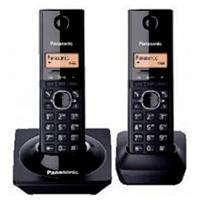 TELEFONO INALAMBRICO DECT BASE + HANDSET, LCD 1.25, CALLER ID, COLOR NEGRO, - Garantía: 1 AÑO -